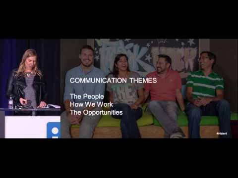 Turbo-charge your Talent Brand: Develop Your EVP | Talent Connect San Francisco 2014