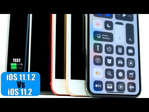 iOS 11.2 vs iOS 11.1.2 Battery TEST | Not what I Expected