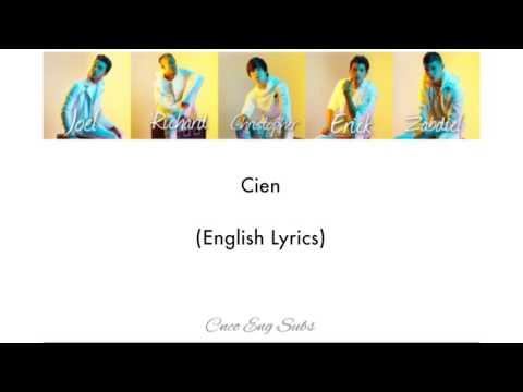 CNCO- Cien (English Lyrics)