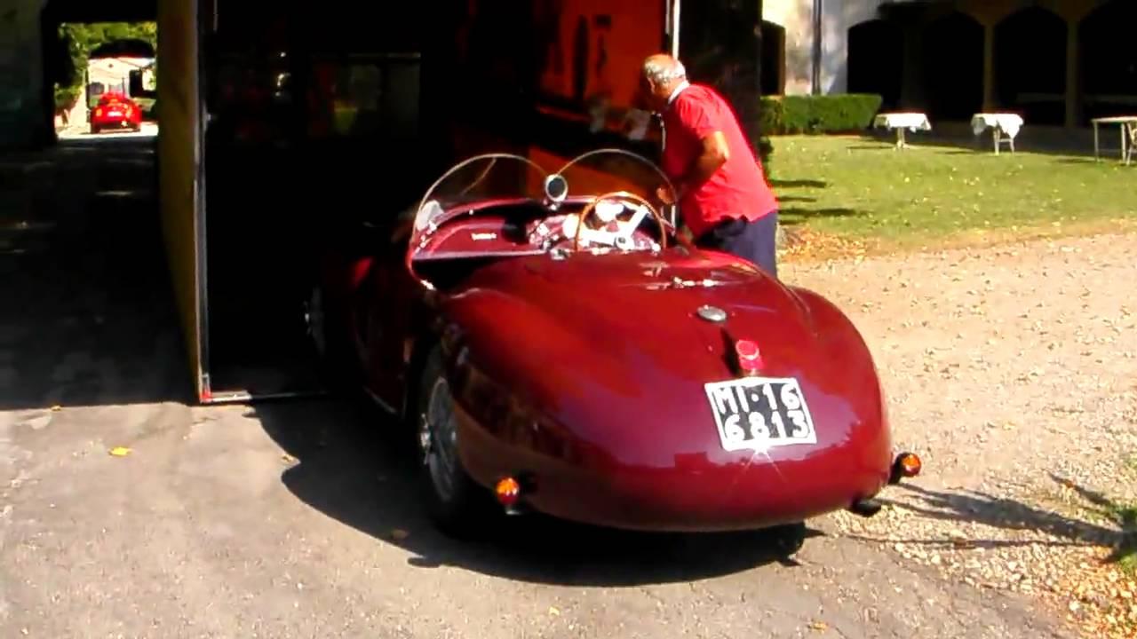 Car Guy Tour 13 Ferrari 815 First Ferrari Built Youtube