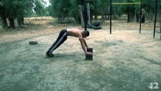 Street workout upper body pyramid rising routine HD (Abdou Dz)