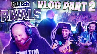 TWITCH CON VLOG DAY 1 (Part 2) - TWITCH RIVALS (TimTheTatman VLOG)