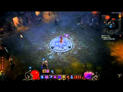 DIABLO 3: Inferno magic find & gold runs at It's best !