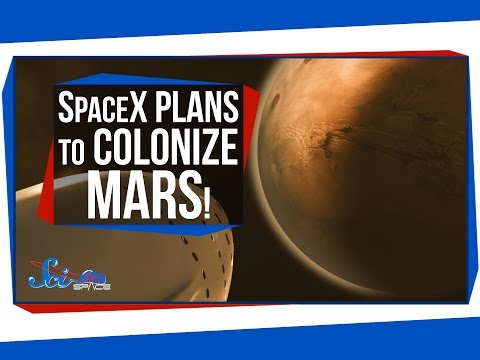 SpaceX Plans to Colonize Mars!