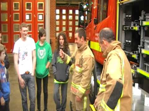 Poole Fire Station   visit   19  - 5  -12