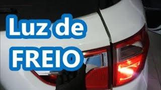 Como trocar LÂMPADA de FREIO e LANTERNA | Ford Ecosport 2015