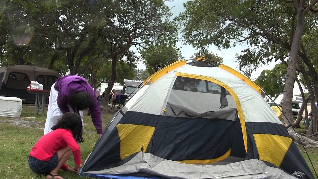 Key West Campground, Key West Camping, Key West RV Park y tienda de campaña. Key West, FL camping, koa