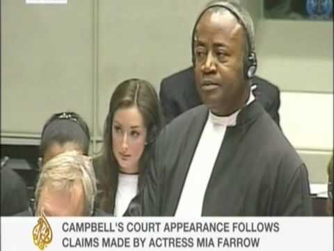 Naomi Campbell in The Hague for Charles Taylor trial for war crimes 1of6