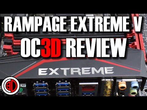 Asus ROG Rampage V Extreme X99 Review 5960X DDR4 3000MHz