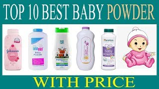 Top 10 Best Baby Powder in India With Price