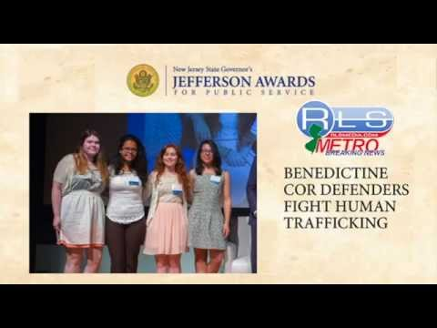 Benedictine Academy 2014 New Jersey Governor Jefferson Award Winners