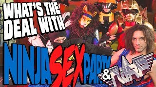 What's the deal with Ninja Sex Party & TWRP? || Character design discussion