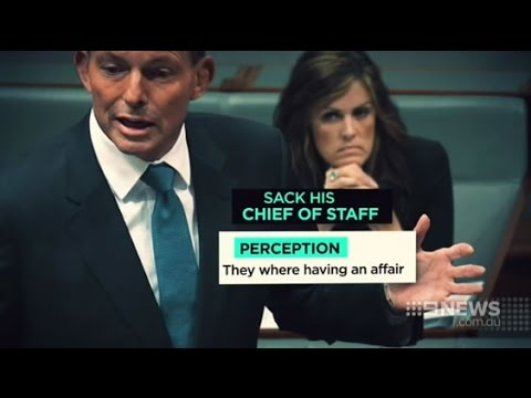 Tony Abbott was warned about perception of an affair with Peta Credlin
