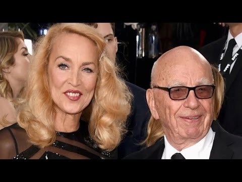 Rupert Murdoch and Jerry Hall Engaged After Whirlwind Romance