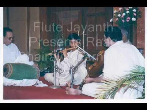 Rag Bhairavi -  J.A. Jayanth ( Carnatic Flute )
