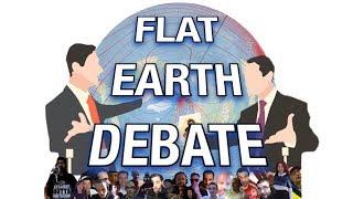 Flat Earth Debate 195 LIVE I Swear I Went To The Moon