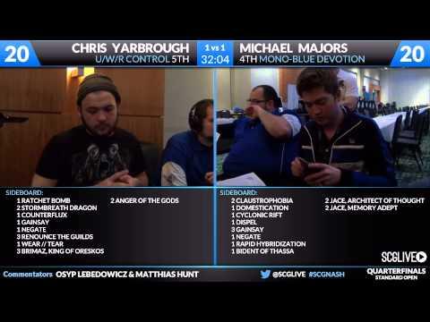 SCGNASH - Standard - Quarterfinals B - Christopher Yarbrough vs Michael Majors