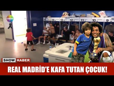 Real Madrid'e kafa tutan çocuk!