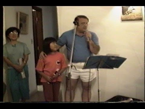 Ensaio na casa de Luiz Arruda Paes - 1988