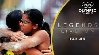 The Story of Beach Volleyball Legend Jackie Silva  Legends Live On