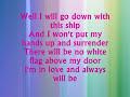 Dido de White Flag with Lyrics