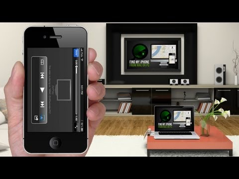 How to AIRPLAY Videos & Music from iPhone 5. 4S. 4 to Mac or PC