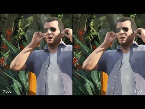 Grand Theft Auto 5 Xbox 360 vs. PS3 Comparison
