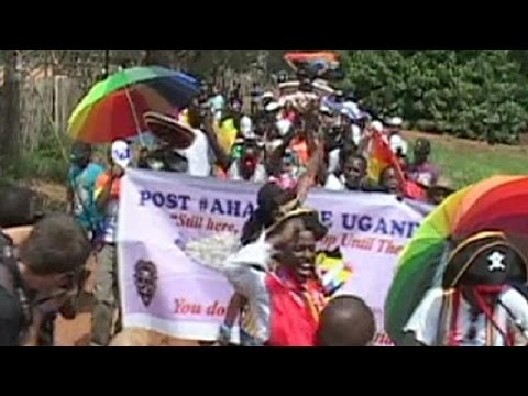 Uganda: First pride parade since anti-gay law overturned - no comment