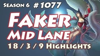 SKT T1 Faker - Ahri vs Syndra - ROX Cry, NA LOL SoloQ Highlights