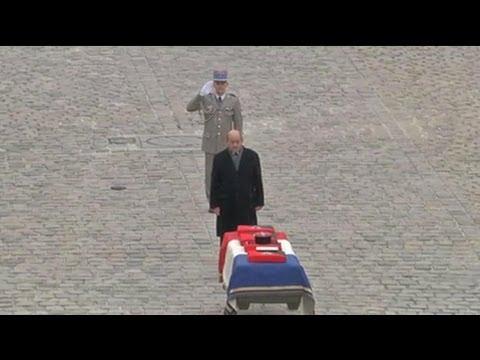 Un hommage aux Invalides en l'honneur du soldat tué au Mali - 22/02