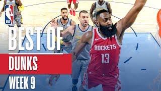 NBA's Best Dunks | Week 9