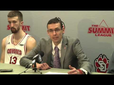 MBB: NDSU at South Dakota Post-game
