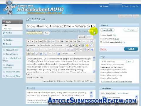 0 Article Submit Auto Review   ArticleSubmissionReview.com