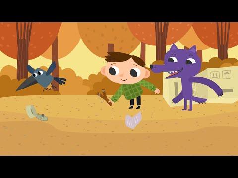 """Петя Волк (1 серия """"Ворона"""") — Сериал студии анимации Да"""
