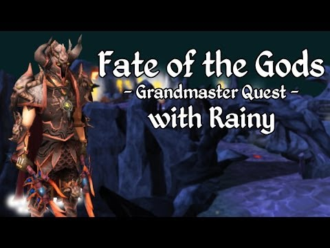 Runescape: Fate of the Gods Quest with Rainy [Livestream]