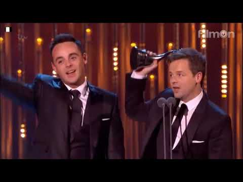 Ant & Dec National Television Awards - Landmark award 2014