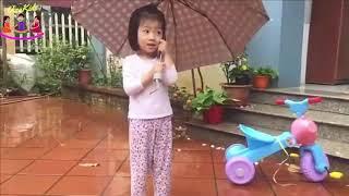 Rain Rain Go Away♫ Nhạc thiếu nhi vui nhộn sôi động hay nhất ♫Video giúp bé ăn ngon