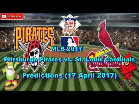 MLB The Show 17 Pittsburgh Pirates Vs. St. Louis Cardinals Predictions #MLB2017 (17 April 2017)