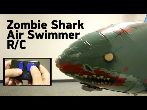 Zombie Shark Air Swimmer R/C from ThinkGeek