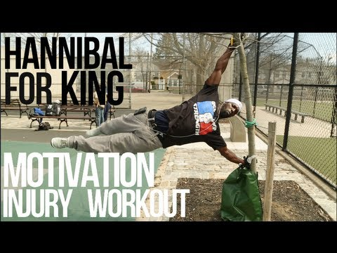 MOTIVATION- Hannibal for King INSANE workout during Injury
