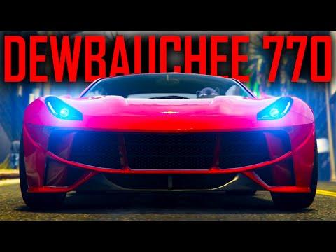GTA Online New DLC ~ DEWBAUCHEE SEVEN-70 ~ New Sports Car Benchmark?
