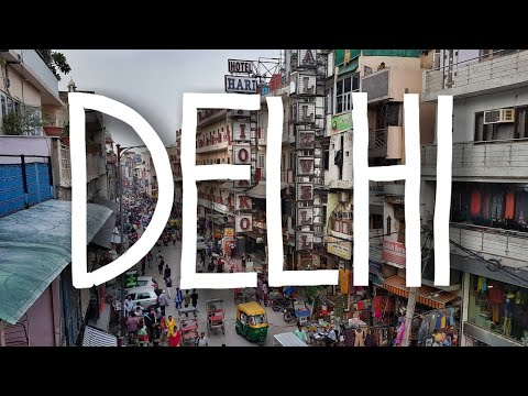 4 Days in Delhi | Backpacking India