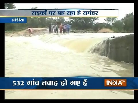 Flood Becomes A Life Threat In Odisha - India TV