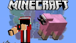 PINK SHEEP HAS TAUGHT ME HOW TO BE A PRANKSTER GRANGSTER - Super Minecraft Maker