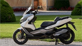 BMW C 400 GT (2019)  NEW Gran Turismo mid-size scooter