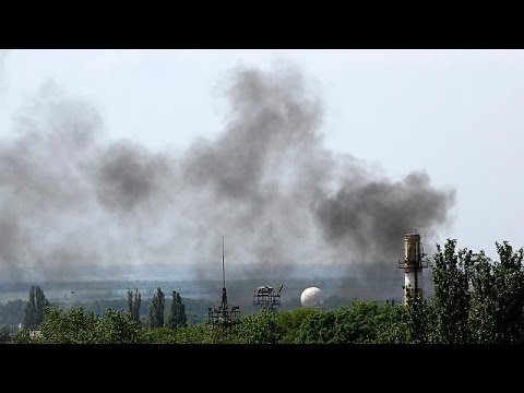Kyiv launches anti-terrorist operation in Donetsk airport as rebels take control