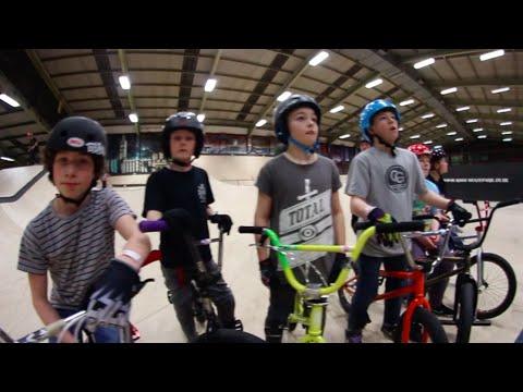Lil Pros UK BMX Tour: Rush Skatepark - Stroud, England