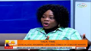 TalkTime On Morning Delight: Alade Aromire...Life And Times Of A MovieMaker