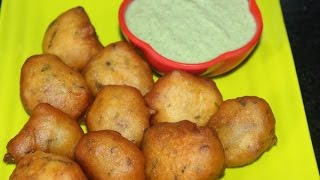 Goli bajji/manglore bajji in kannada