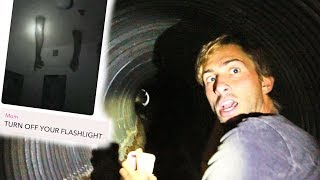 SCARY STORIES IN THE CREEPY TUNNEL!